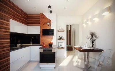 Как обыграть воздуховод на кухне?
